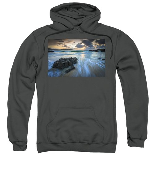 La Fragata Beach Galicia Spain Sweatshirt
