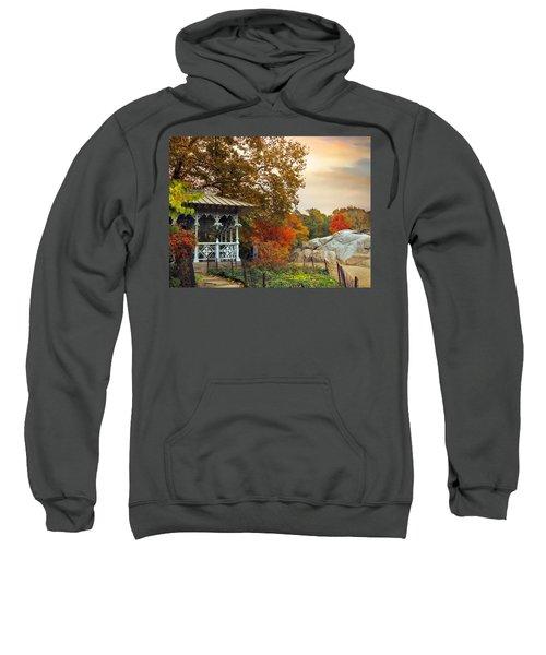 Ladies Pavilion In Autumn Sweatshirt