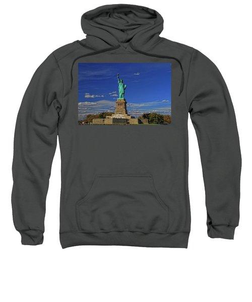 Lady Liberty In New York City Sweatshirt