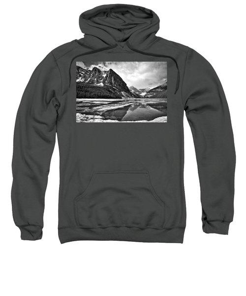 Lake Louise - Black And White #3 Sweatshirt