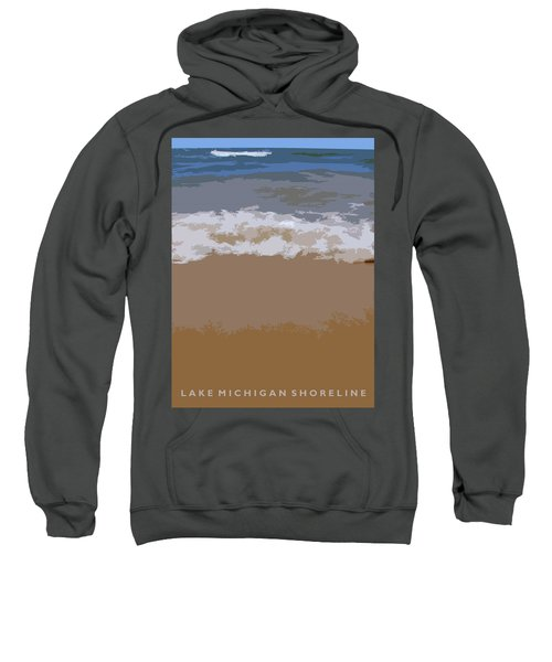 Lake Michigan Shoreline Sweatshirt