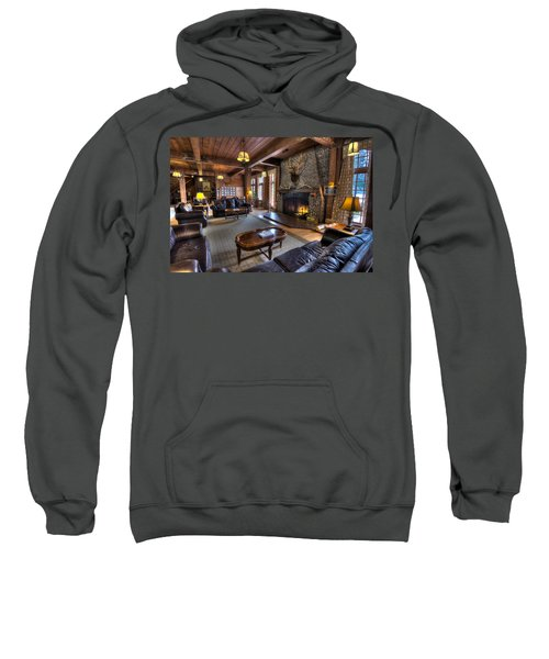 Lake Quinault Lodge Olympic National Park Sweatshirt