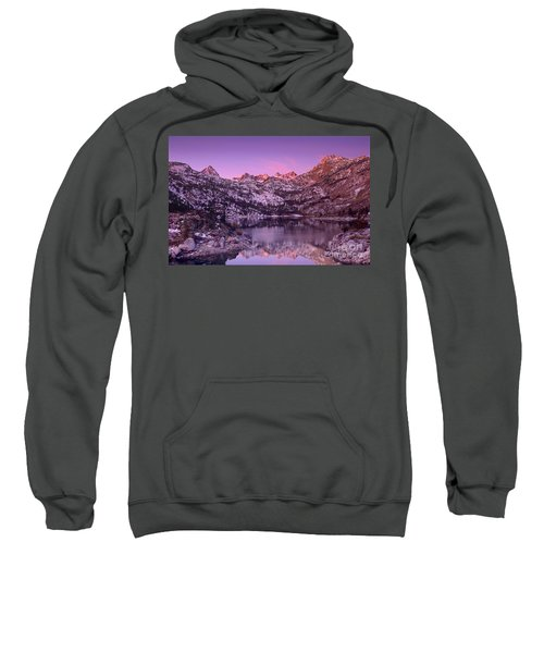 Lake Sabrina Sunrise Eastern Sierras California Sweatshirt