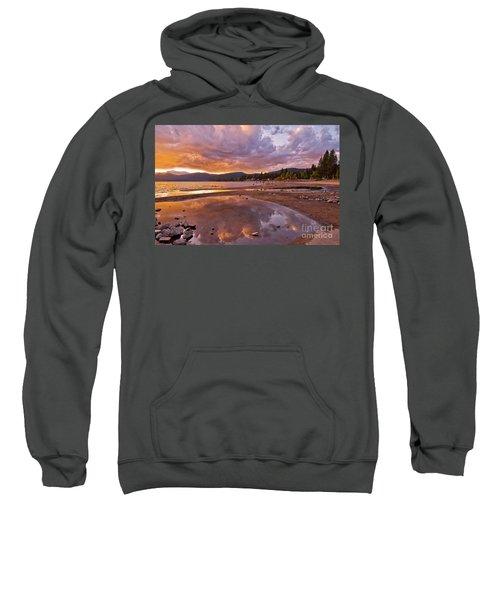 Sweatshirt featuring the photograph Lake Tahoe by Mae Wertz