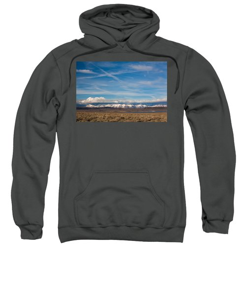 Landscape By A Lake Crowley With White Sweatshirt