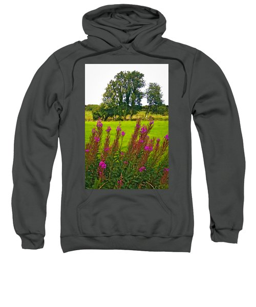 Lanna Fireweeds County Clare Ireland Sweatshirt