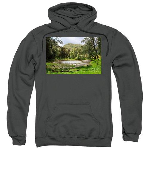 Lanty's Tarn In The Lake District Cumbria Sweatshirt
