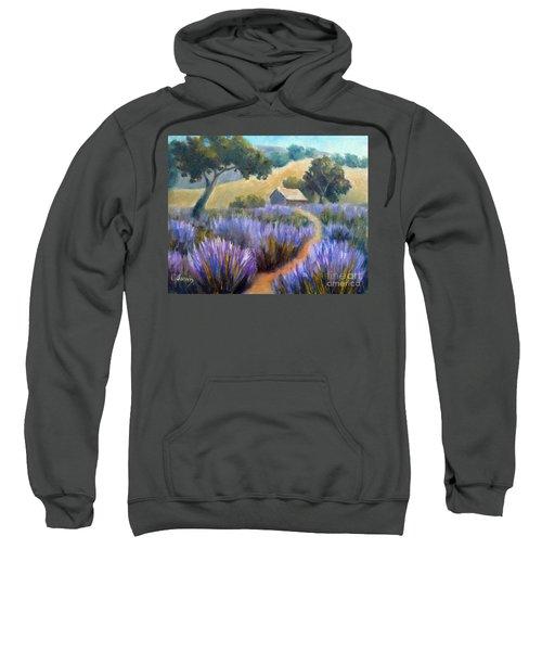 Lavender Path Sweatshirt
