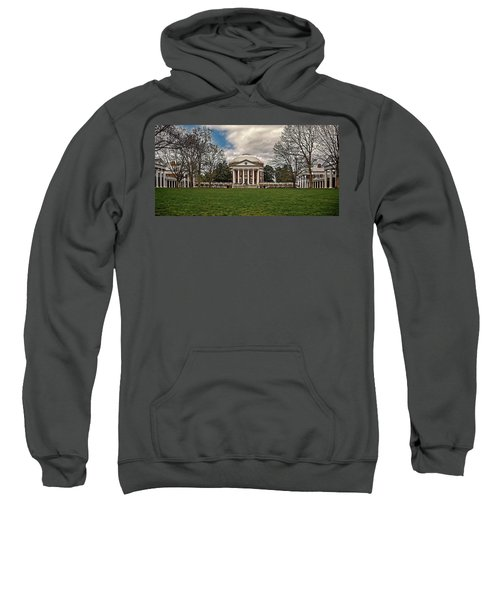 Lawn And Rotunda At University Of Virginia Sweatshirt