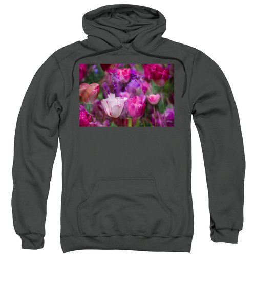 Layers Of Tulips Sweatshirt