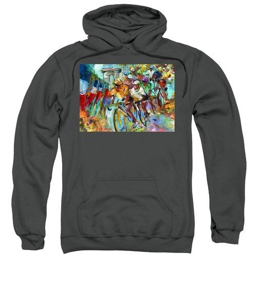 Le Tour De France Madness 02 Sweatshirt