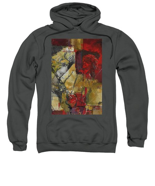 Led Zeppelin Sweatshirt by Corporate Art Task Force