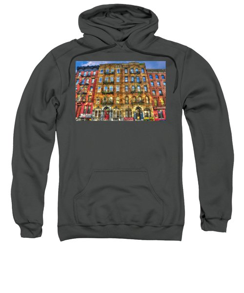 Led Zeppelin Physical Graffiti Building In Color Sweatshirt