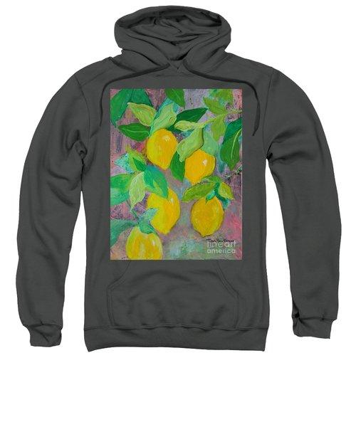 Lemons On Lemon Tree Sweatshirt