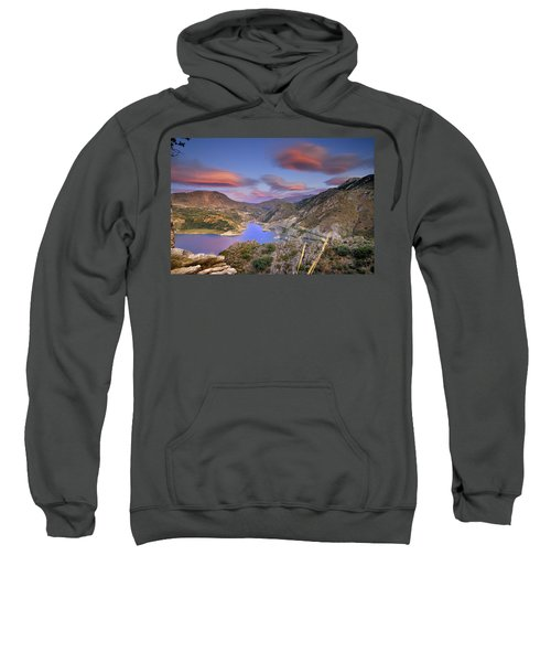 Lenticular Clouds At The Red Sunset Sweatshirt