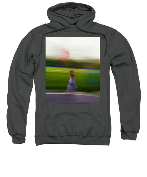 Sweatshirt featuring the photograph Lighter Than Air by Alex Lapidus