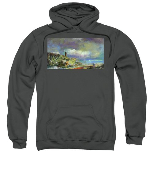Lighthouse And Fisherman Sweatshirt