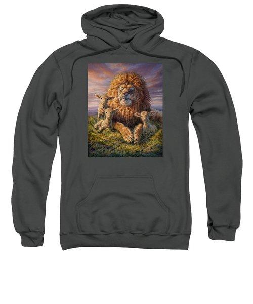 Lion And Lambs Sweatshirt