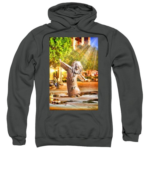 Lion Fountain Sweatshirt