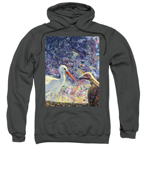 Living Between Beaks Sweatshirt
