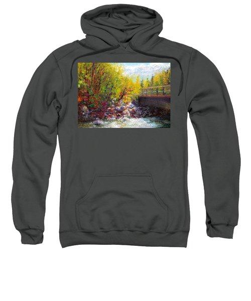 Living Water - Bridge Over Little Su River Sweatshirt