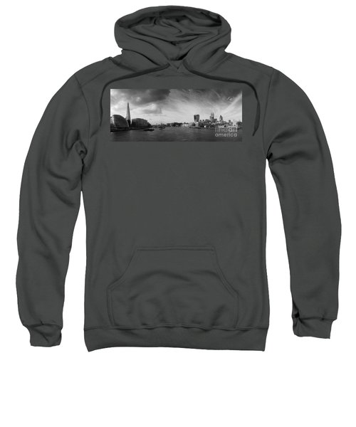 London City Panorama Sweatshirt by Pixel Chimp