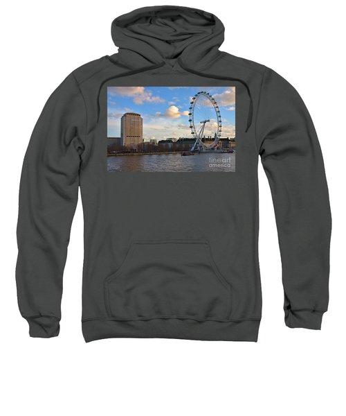 London Eye And Shell Building Sweatshirt