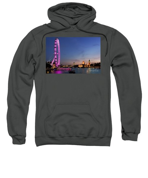 London Eye Sweatshirt by Rod McLean