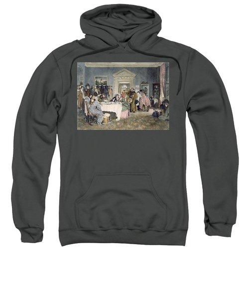 London To York  Times Up Sweatshirt