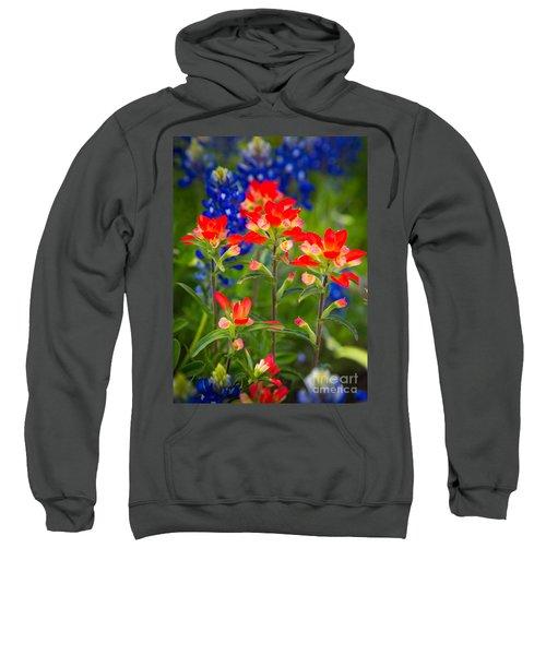 Lone Star Blooms Sweatshirt