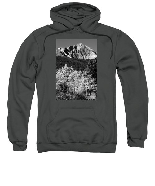 Longs Peak 14256 Ft Sweatshirt by James BO  Insogna