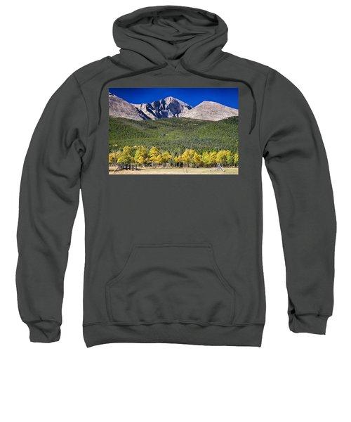 Longs Peak A Colorado Playground Sweatshirt