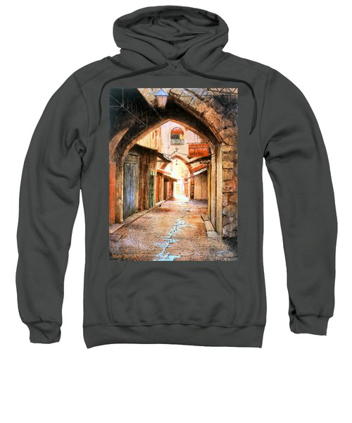 Look Who Is Coming Sweatshirt