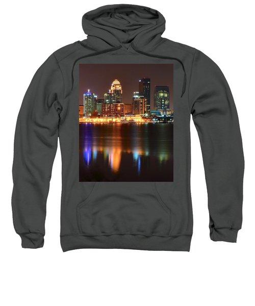 Louisville At Night  Sweatshirt