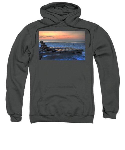 Lounge Closeup On Beach ... Sweatshirt