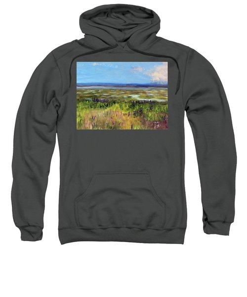 Lupine Of Fort Hill Sweatshirt