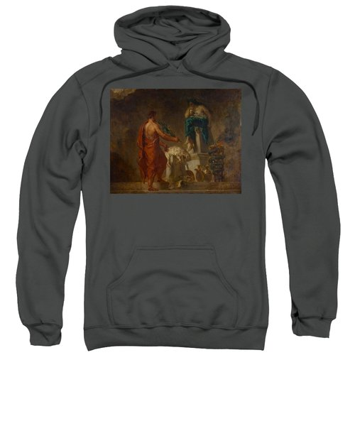 Lycurgus Consulting The Pythia Sweatshirt by Eugene Delacroix