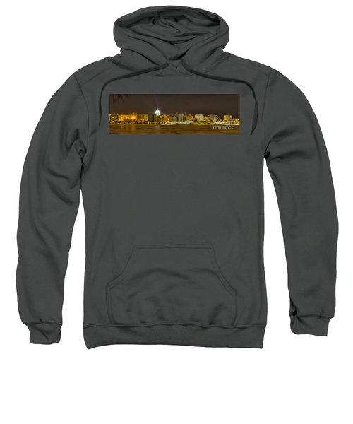 Madison - Wisconsin City  Panorama - No Fireworks Sweatshirt