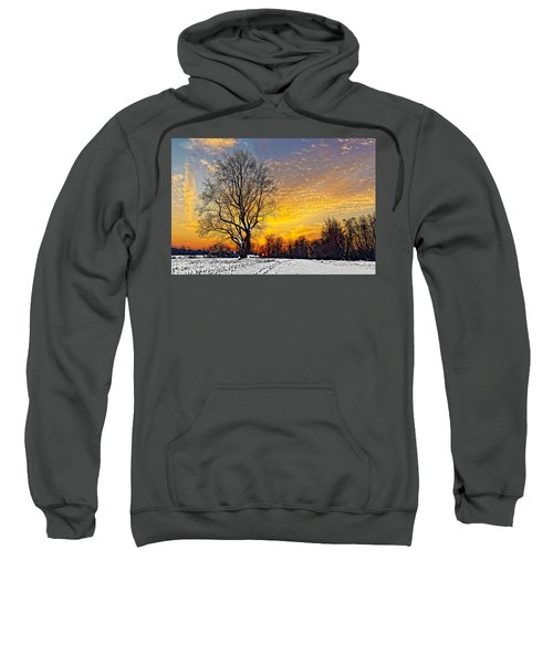 Magical Winter Sunset Sweatshirt
