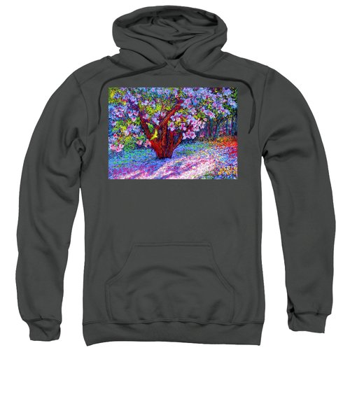 Magnolia Melody Sweatshirt by Jane Small