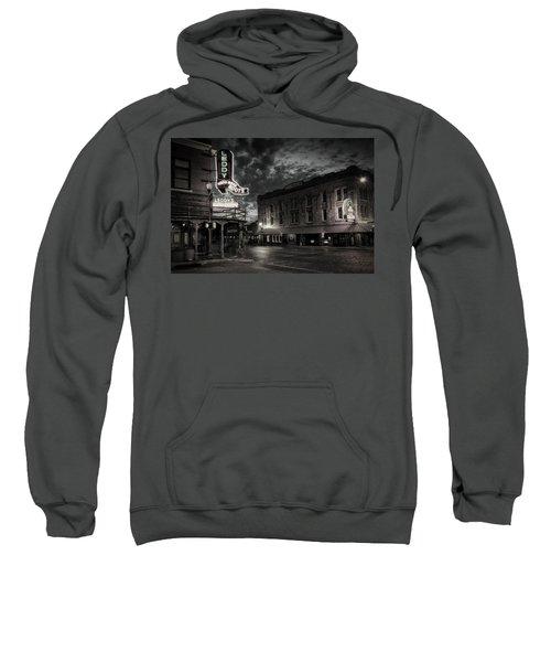 Main And Exchange Bw Sweatshirt