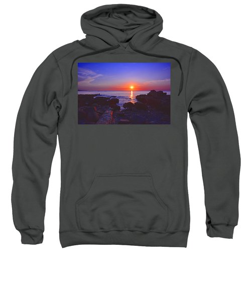 Maine Coast Sunrise Sweatshirt