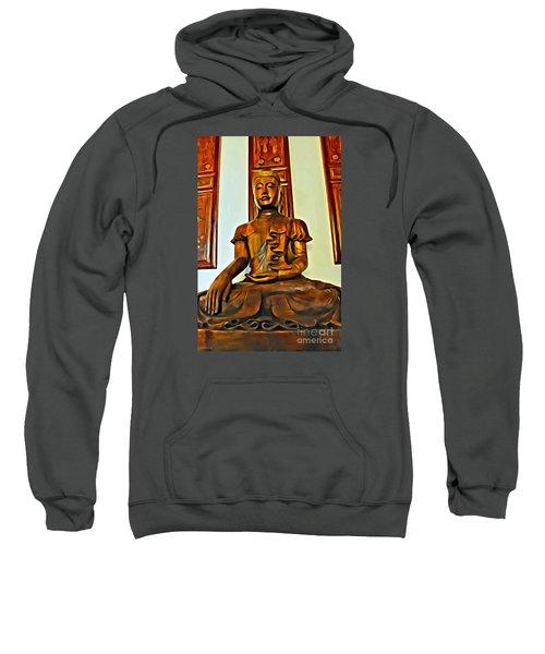 Majestic Buddha Sweatshirt