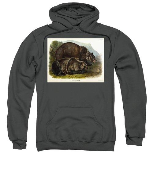 Male Grizzly Bear Sweatshirt