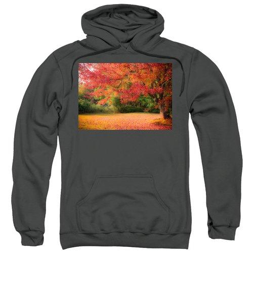 Maple In Red And Orange Sweatshirt