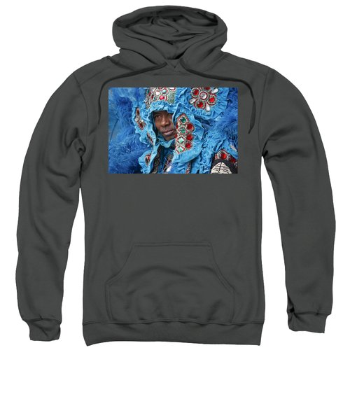 Mardi Gras Indian Sweatshirt