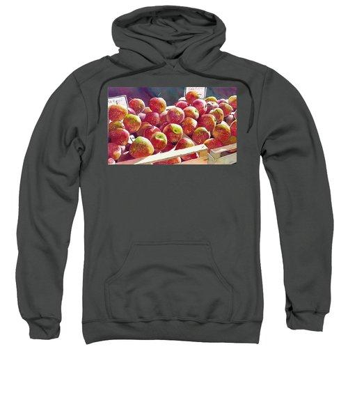 Market Apples Sweatshirt