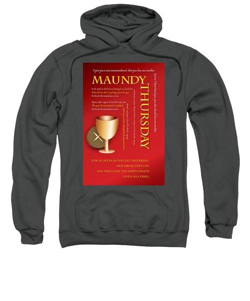 Maundy Thursday Sweatshirt