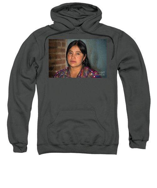Mayan Girl Sweatshirt