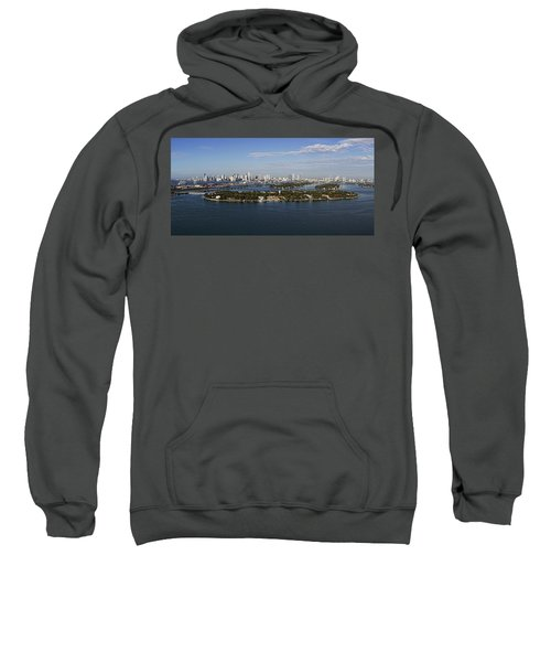 Miami And Star Island Skyline Sweatshirt